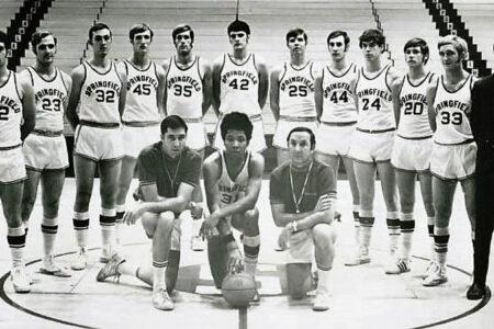 1970-71 Springfield College Men's Basketball-Team