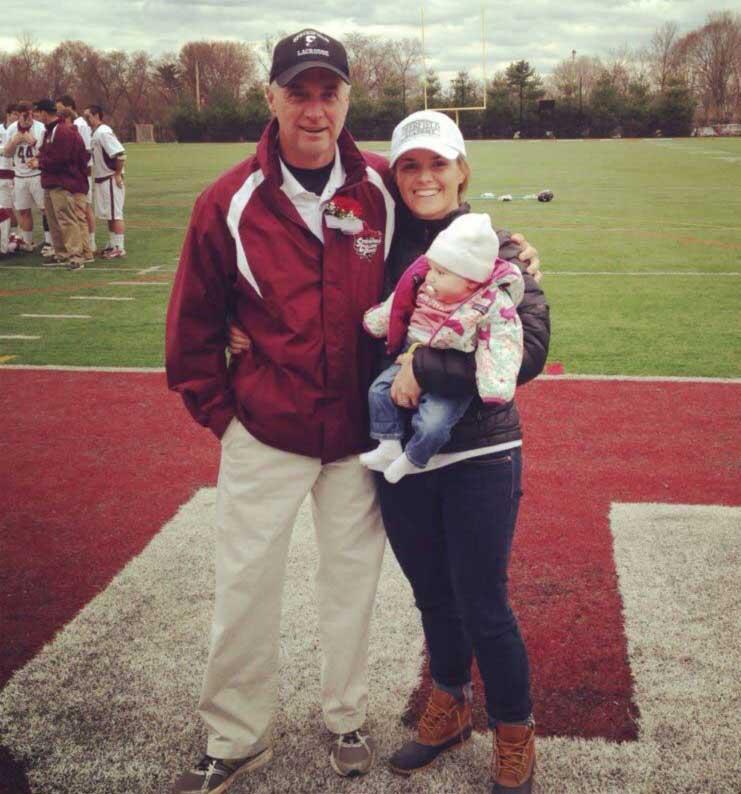 Coach Bugbee and Lindsay