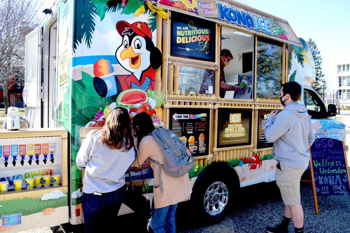 Wellness Wednesdays food truck