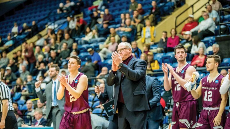 Coach Brock and players